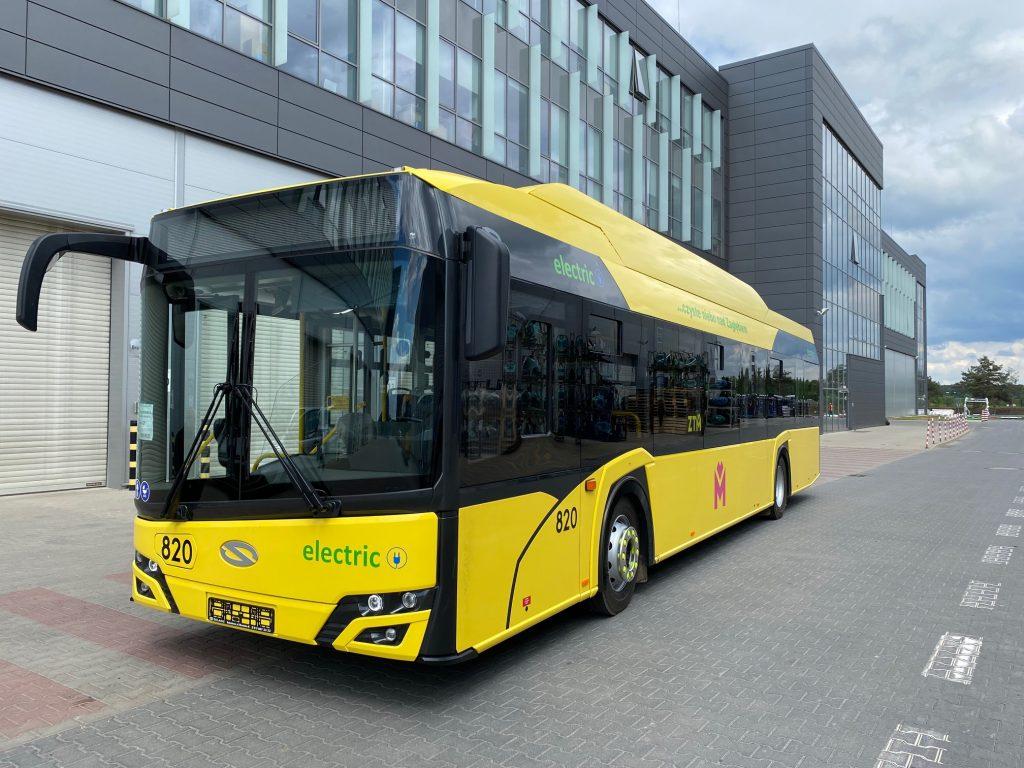 Dwie oferty w przetargu Metropolii na autobusy elektryczne