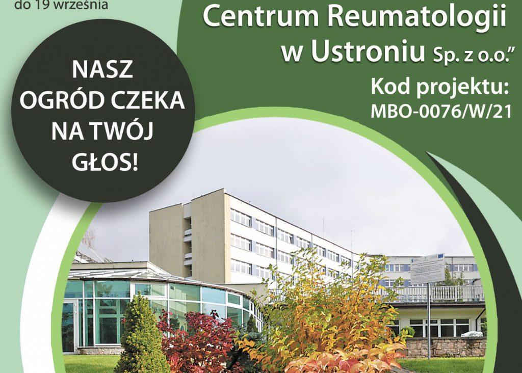 Marszałkowski Budżet Obywatelski - zagłosuj na projekt z Ustronia!