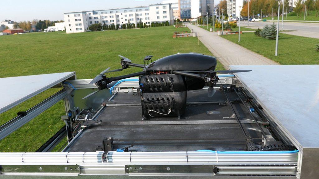 Transport dronami w Sosnowcu – pilotażowy program coraz bliżej