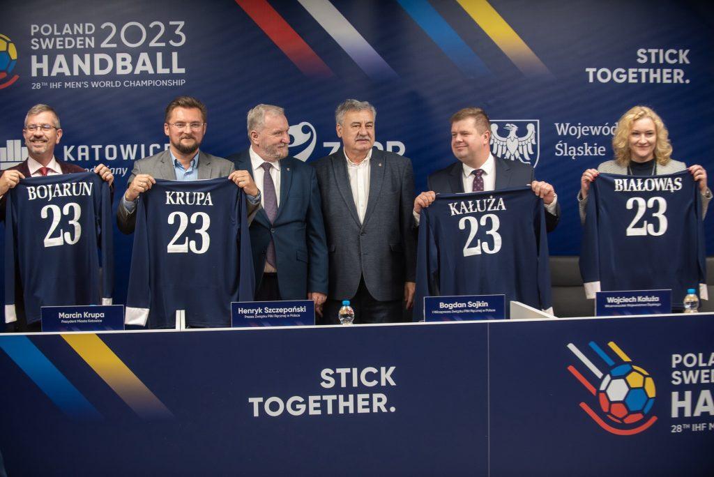Katowice miastem-gospodarzem mistrzostw świata w piłce ręcznej 2023!